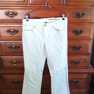 *FINAL SALE* EUC GAP White Jeans Size 6/28